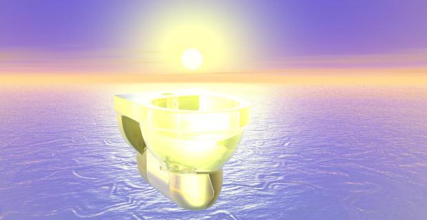 buang airnya penghuni surga