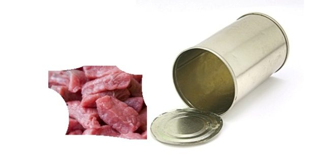 daging qurban kaleng