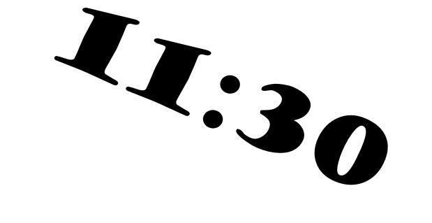 jam 11-30
