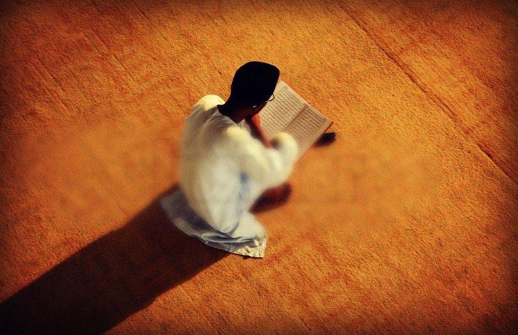 gambar baca quran