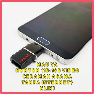 flashdisk Yufid.TV di HP