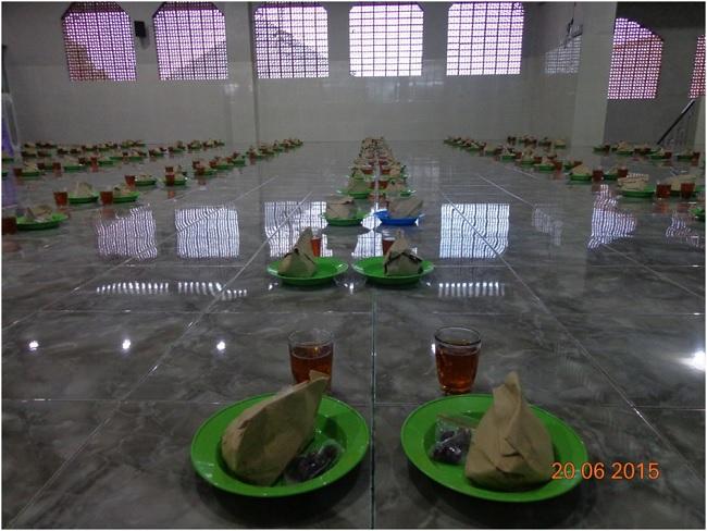 Sajian ifthor bulan ramadhan