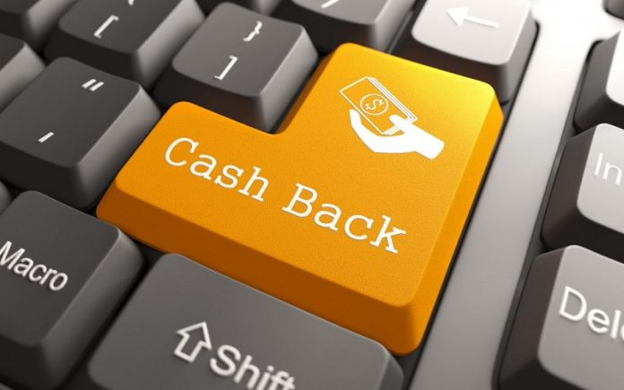potongan harga - cashback