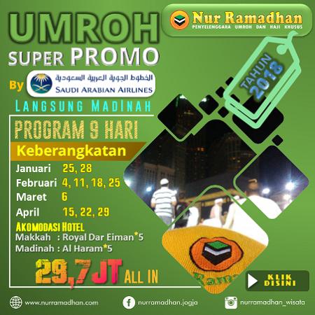 Umroh Promo Murah
