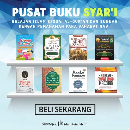 Toko Buku Islam Itu Indah