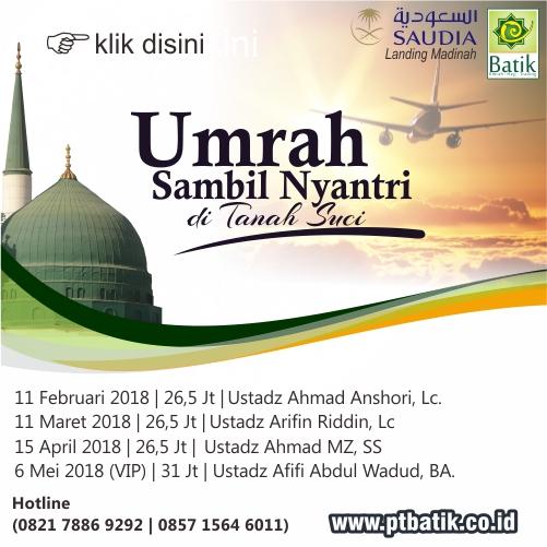 Umrah Murah Batik Travel