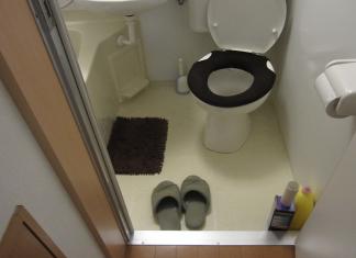sandal toilet