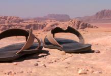 sunnah memakai sandal