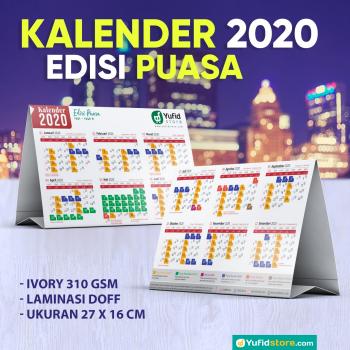 KALENDER MEJA 2020 EDISI PUASA