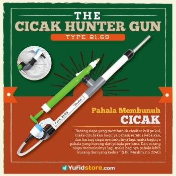 cicak hunter gun